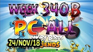 Angry Birds Friends Tournament All Levels Week 340-B PC Highscore POWER-UP walkthrough