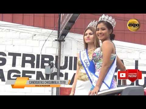 Desfile De Presentación Srita Chiquimula 2018
