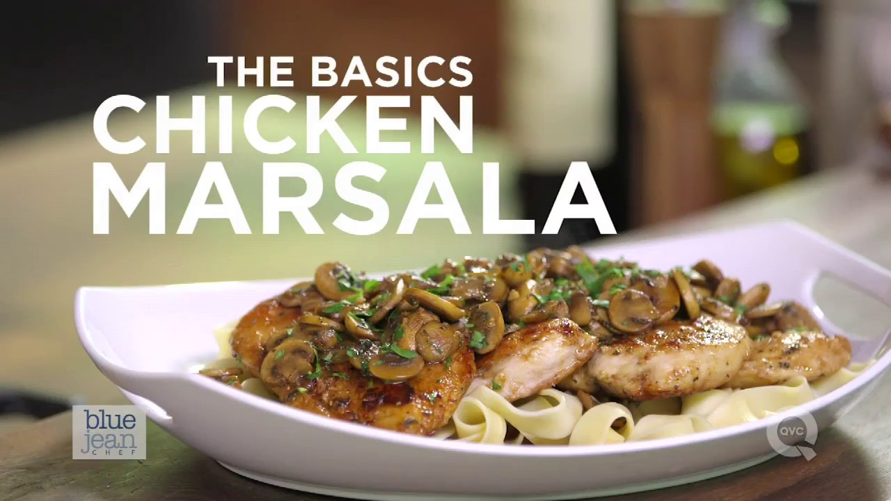 How to make chicken marsala the basics on qvc youtube how to make chicken marsala the basics on qvc forumfinder Images