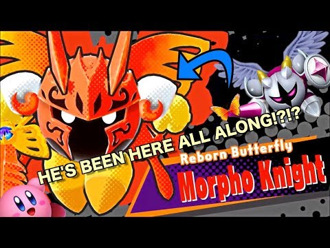 THE BUTTERFLY IS A WARRIOR!?!? (Kirby Star Allies- Galacta Knight and Morpho Knight Lore)