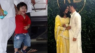 Taimur Ali Khan Steals Limelight On Priyanka Chopra Nick Jonas Engagement Day | Bollywood Now