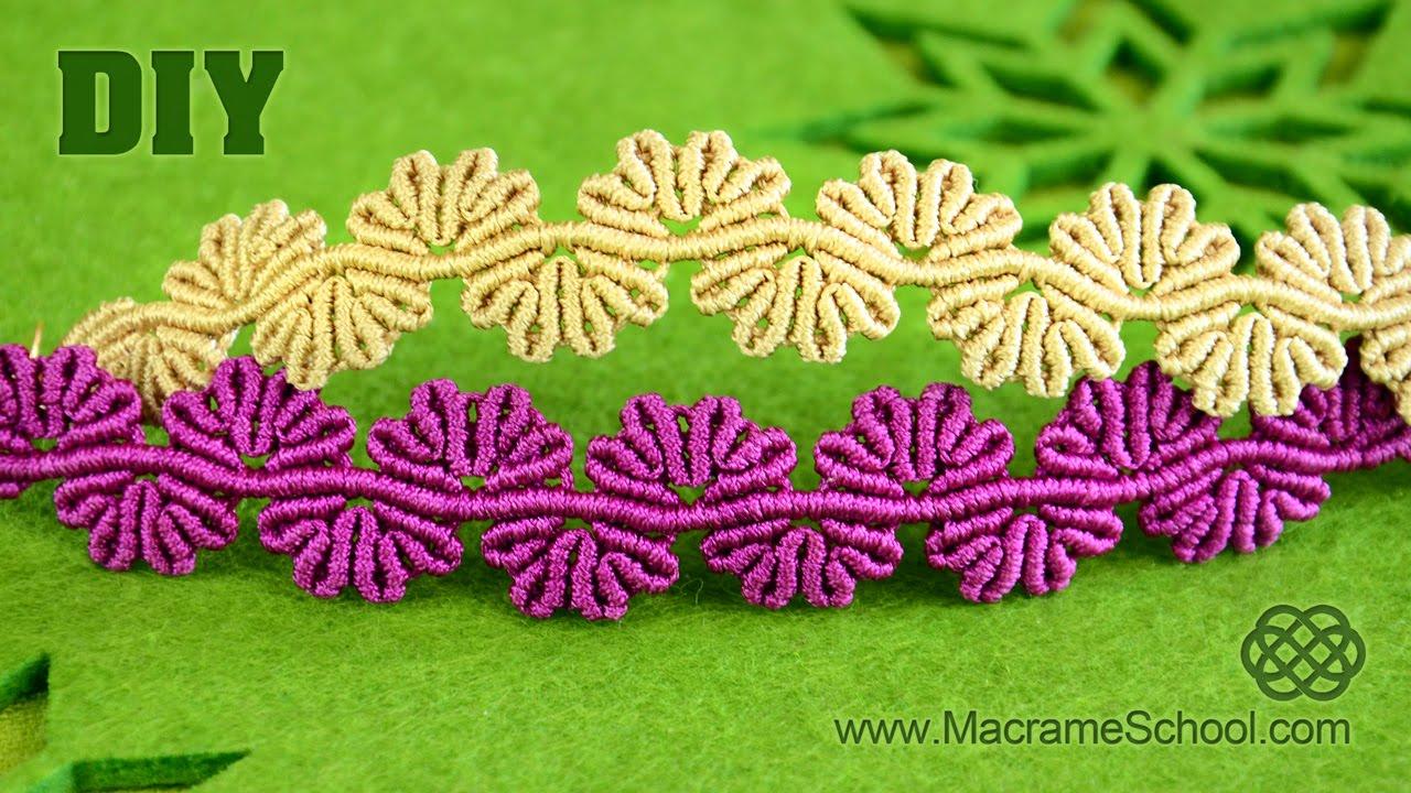 f6822ae763c9 Wavy Flower Lace Bracelet Tutorial « Jewelry :: WonderHowTo