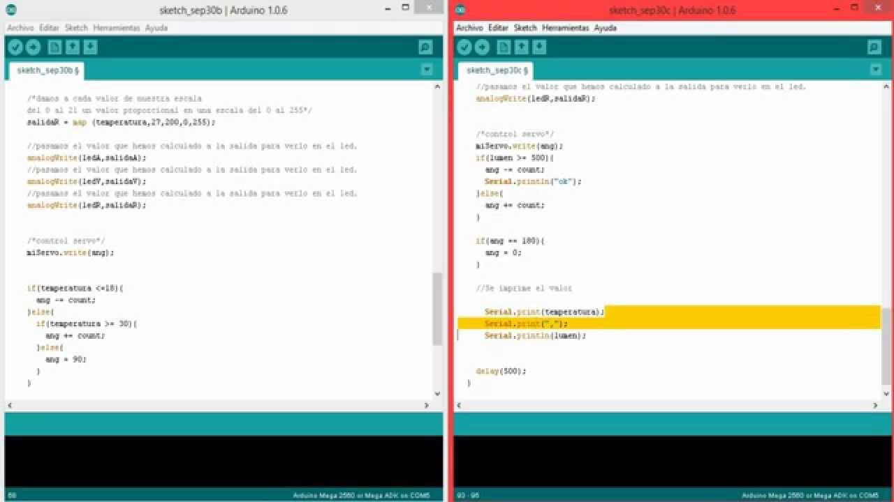 Servo motor arduino code impremedia