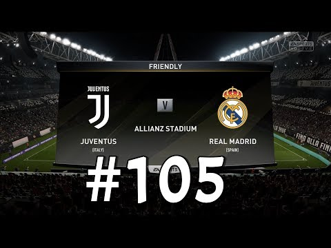 Juventus vs Real Madrid!!! Champions League - Quarter Final Prediction! Fifa 18 Gameplay #105