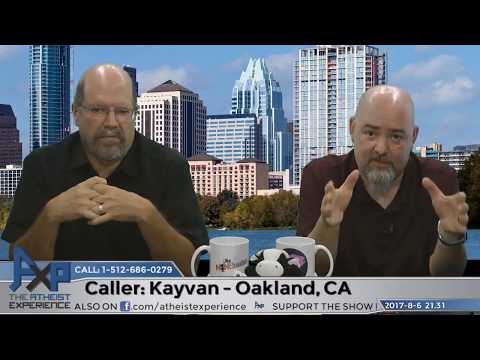Moral Virtue v Moral Obligation & Animal Rights | Kayvan - Oakland, CA | Atheist Experience 21.31
