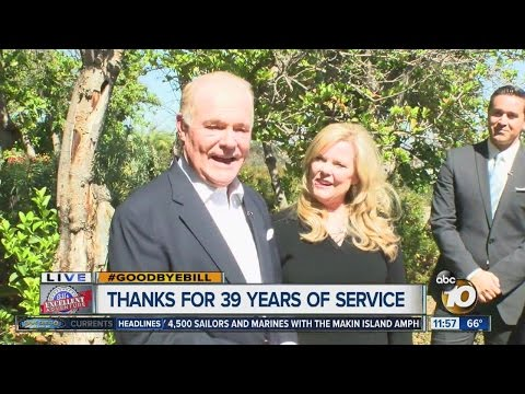 #GoodbyeBill: Bill Griffith signs off for the final time at 10News