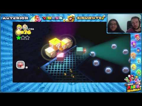 Wii U l Guía l Super Mario 3D World l # 36 l ¡ Mapas : C - 2, C - 3 y C - Casa Misteriosa !