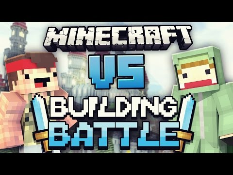 Building Battle VS Rewi! - Minecraft Clash Of Kings | ungespielt
