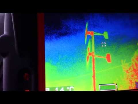 Thermal image windgenerator.org.uk Hornet wind turbines UK