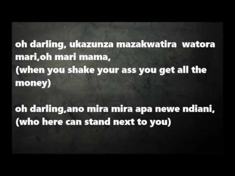 JAH PRAYZAH FT DIAMOND  WATORA MARI LYRICS WITH ENGLISH TRANSLATION