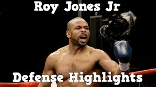 Roy Jones Jr - Defense Highlights