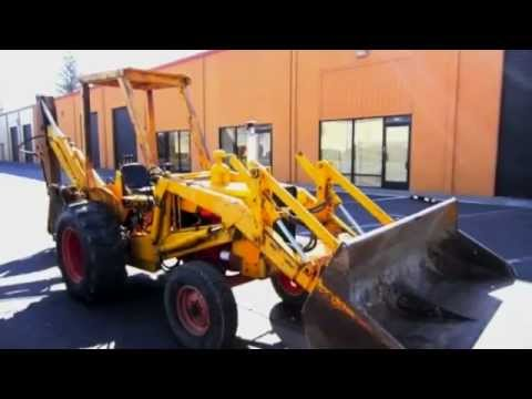 Case 580 Ck Industrial Tractor On Govliquidation Com Youtube