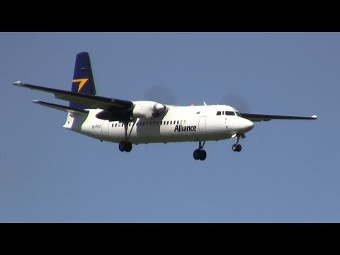 Alliance Airlines ► Fokker F50 ► Landing ✈ Auckland Airport