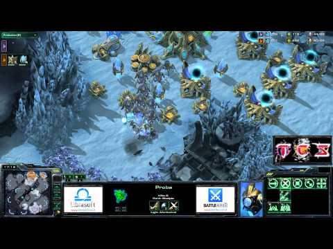 TCS #103: [PvP]  Loacker v. LucaBicu - StarCraft 2 ita