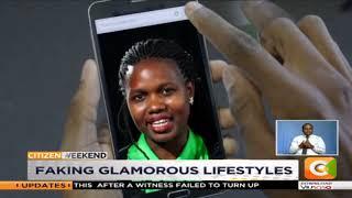 Faking glamorous lifestyles online