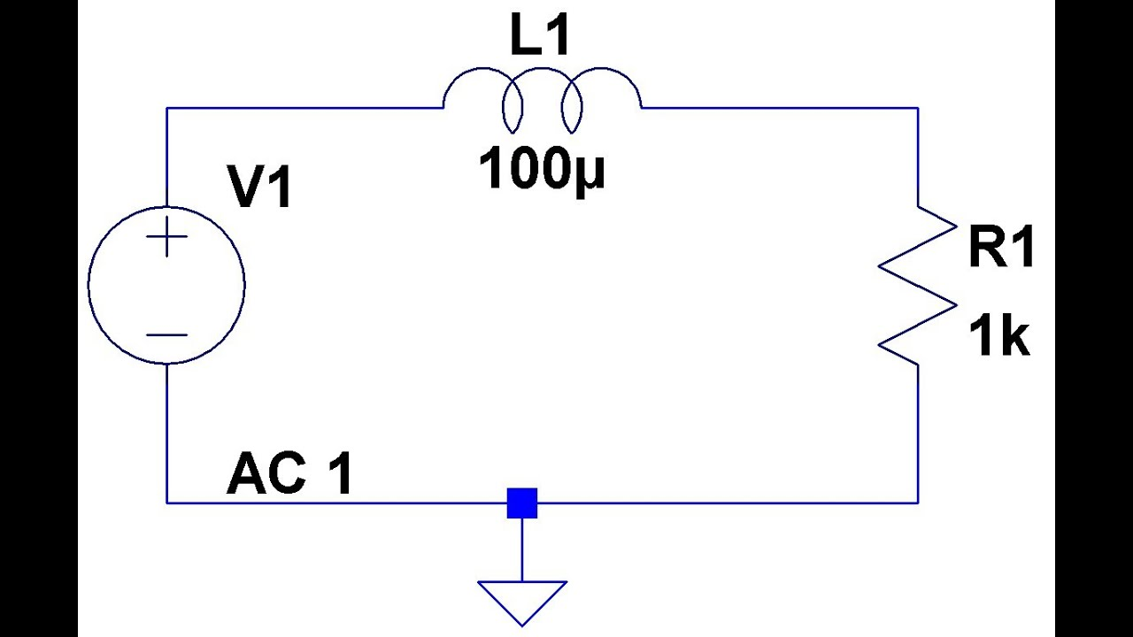 Passive Low Pass Rl Filters Youtube Filter Capacitor Circuit To Out Ac Signals