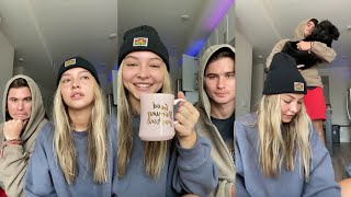 Download lagu Outer Banks Madelyn Cline and Chase Stokes Instagram live 10-02-2020