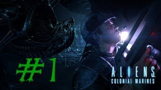 Let´s play Aliens: Colonial Marines #1 [Deutsch/Full-HD] - Marines aufgestanden!
