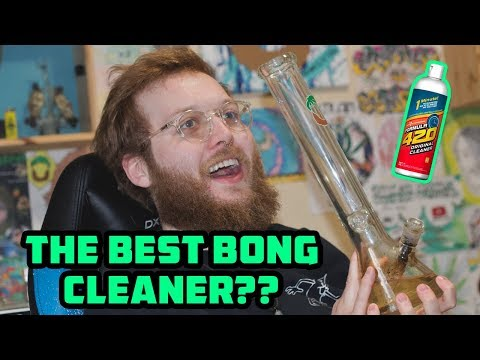 The Best Way To Clean a Bong???