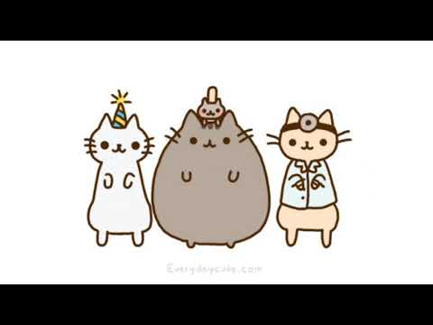 Pusheen the Cat song video - Katy Perry: Chained to the Rhythm