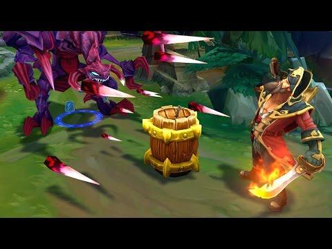 CHO'GATH SIZE vs GP BARREL & Blast Cone! (Tips & Tricks)