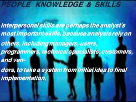 interpersonal skills of system analyst