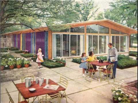 modern decorating mid century patio ideas