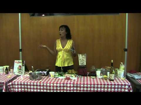 "Miyoko Schinner: Demo ""Better than Grilled Cheese: Recipes from Artisan Vegan Cheese"""
