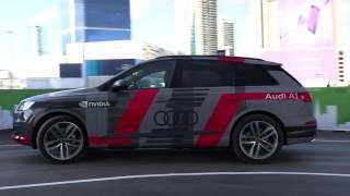 CES 2017 Audi demo of Piloted Q7