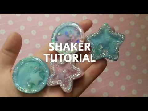 DIY small shakers for phone grips using epoxy resin