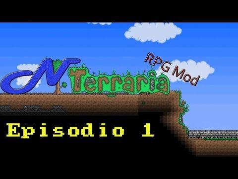 Juguemos: N Terraria | Episodio 1 | Nuevas razas, misiones, enemigos...