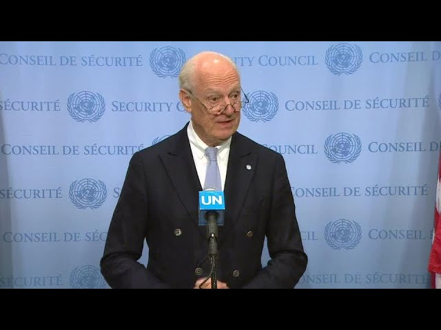 Special Envoy for Syria on the Middle East - Media Stakeout (17 October 2018)