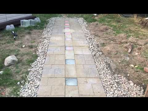 Solar Powered LED Walkway Project