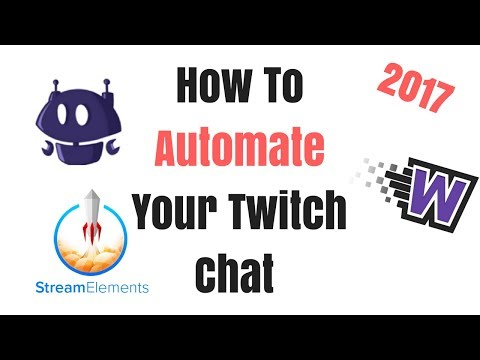 How To Automate Your Twitch Chat Using Nightbot, Stream