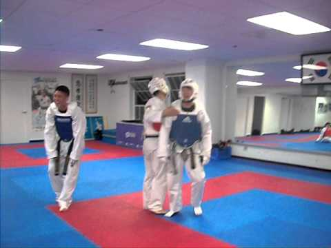 Sparring Match: Elite TKD Center LA (Choong Hyo Taekwondo ...