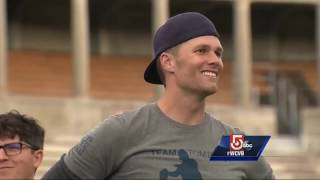 Tom Brady, Patriots take part in Best Buddies football game