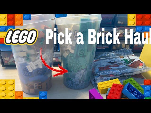 Lego (Pick a Brick) Haul 3