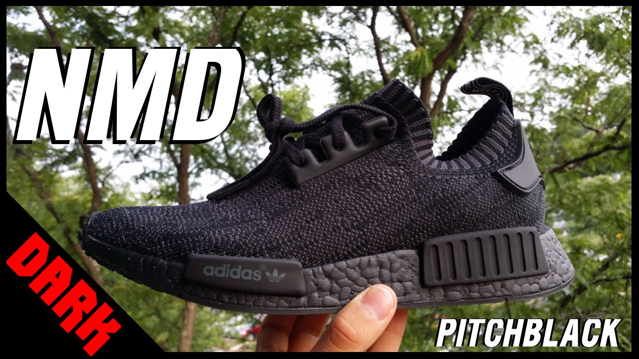6da511ebb49 Unboxed: NMD Pitch Black 1/500 ( Adidas Snapchat Giveaway)