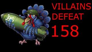 Villains Defeat 158