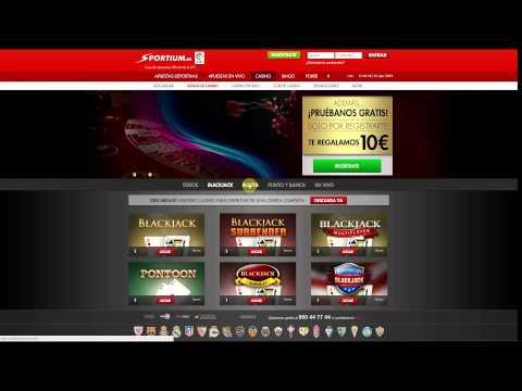 Sportium Casino – mejores bonos iniciales