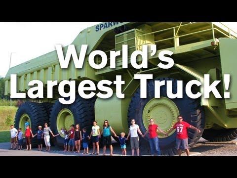 World's Largest Truck - The Terex Titan!