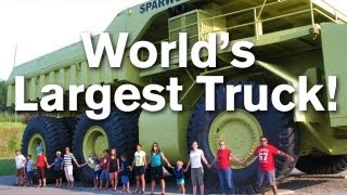 World's Largest Truck - The Terex Titan!