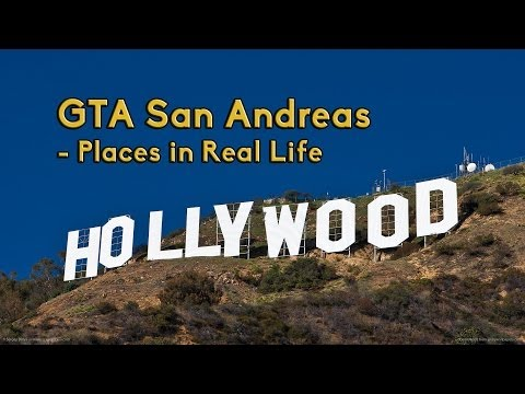 Grand Theft Auto: San Andreas - Real Life (Places) [HD]