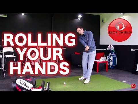 ROLLING YOUR HANDS IN THE GOLF SWING