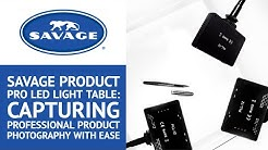 Savage Product Pro LED Light Table: Capturing Professional Product Photography with Ease