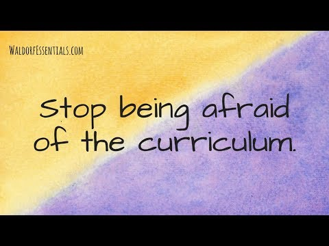 Stop Being Afraid Of The Curriculum