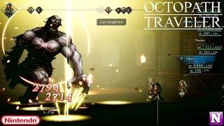 Octopath Traveler - [ Cyrus ] Chapter 3 Boss Fight - Master Yvon