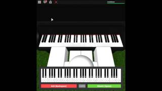 Family Guy Theme on a ROBLOX piano.
