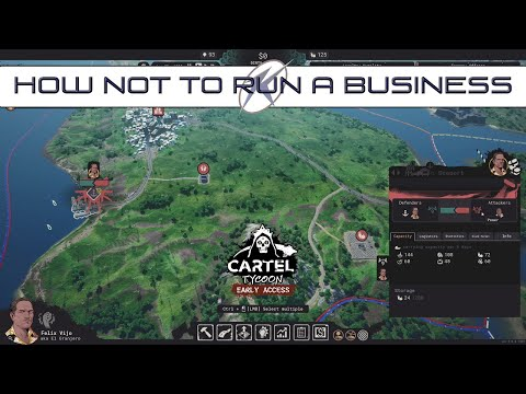 Trying out Sandbox Mode - Cartel Tycoon |
