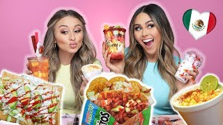 Trying Mexican Snacks | YesHipolito & Roxette Arisa
